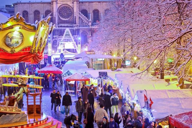 Рождественский рынок в Брюсселе. Фото 2
