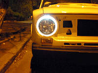 Ангельские глазки на ВАЗ 2101—ccfl angel eyes.