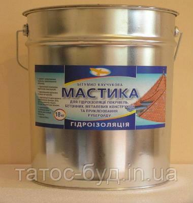 Мастика битумно-полимерная, 25 кг
