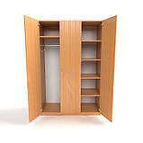 Шкаф для одежды ШО-5. Офисные шкафы для одежды. Корпусная мебель, фото 7