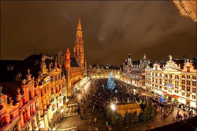 Рождественский рынок в Брюсселе, фото 4