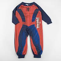 """Теплый человечек - пижама для мальчиков BABY """"Спайдер"""", размер 92 см"""