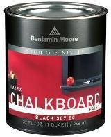 Грифельная краска Benjamin Moore CHALKBOARD Черная 0,946л