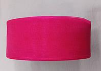 Органза 4 см 45 м розовая