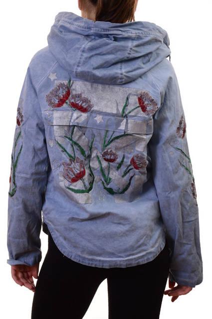 АКЦИЯ!!! Новая цена 30Є!!!Парки женские с вышивкой Pronto Moda New collection  392
