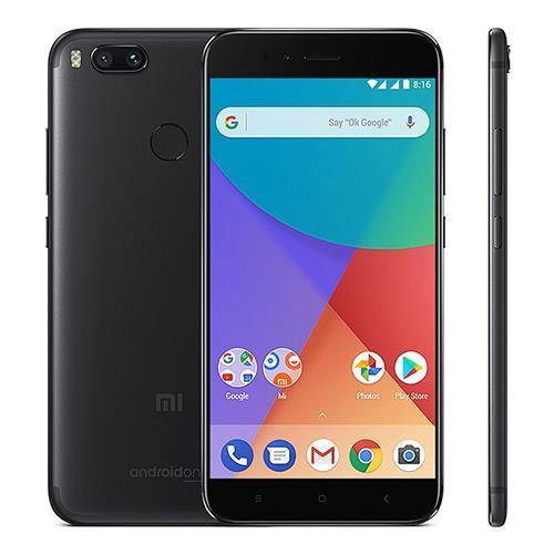 "Смартфон Xiaomi Mi A1, 4/64Gb Black Global, 12+13/5Мп, 8 ядер, 2sim, экран 5.5"" IPS, Международная версия"