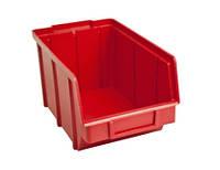 Боксы пластиковые 230*145*125 мм  красный