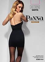 Колготки женские со швом Santa 40 den от TM Panna (Италия)