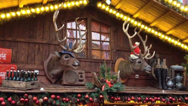 Рождественский рынок в Бонне, фото 2