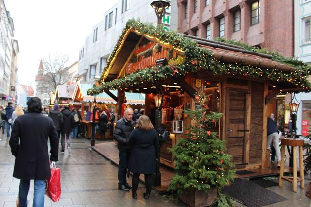 Рождественский рынок в Бонне, фото 3
