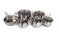 Набор посуды кастрюли Supretto 12 предметов