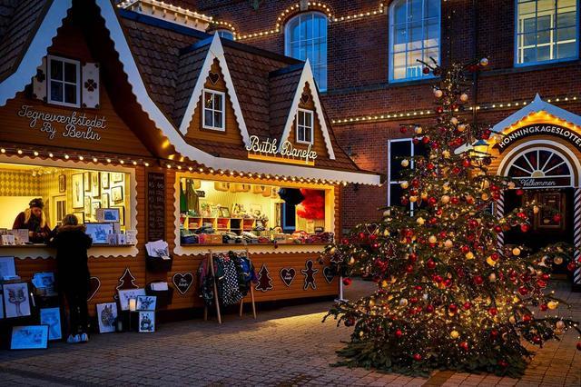 Рождественский рынок в Копенгагене, фото 3