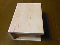 Шкатулка-книжка . Внешний размер шкатулки: 210*150 мм, высота - 95 мм. внутренние параметры 160*105 мм.
