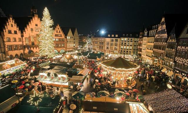 Рождественский рынок в Страсбурге, фото 1