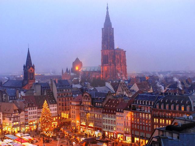 Рождественский рынок в Страсбурге, фото 3