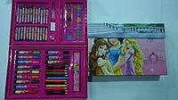"""Набор художника в кейсе,68пр """"Принцессы Princess"""",300*210*40мм.Детский набор для рисования """"Принцессы Princess"""