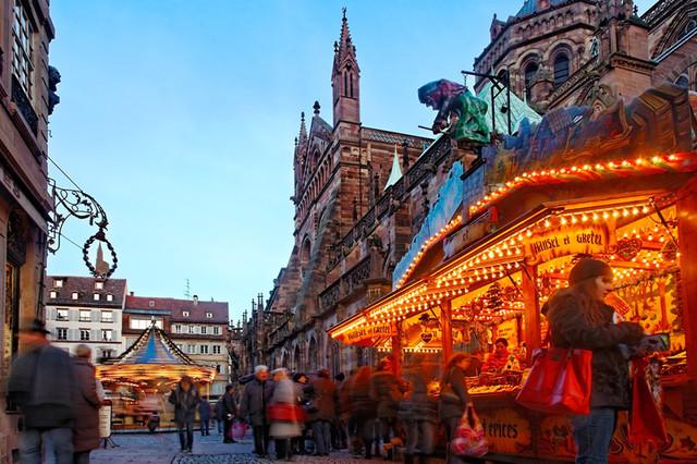 Рождественский рынок в Страгбурге, фото 5