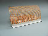 Уголок ПВХ капельный с защитной пленкой и сеткой, 2,5м, фото 2