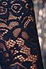 Женское комбинированное платье с гипюровыми рукавами (Valeriefup), фото 5