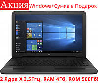 Ноутбук HP 250 G5 (W4M66EA) Black + Сумка в подарок