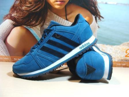 Мужские кроссовки Adidas (реплика) синие 41 р.