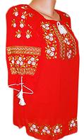 "Жіноча вишита блузка ""Одрі"" (Женская вышитая блузка ""Одри"") BL-0084"