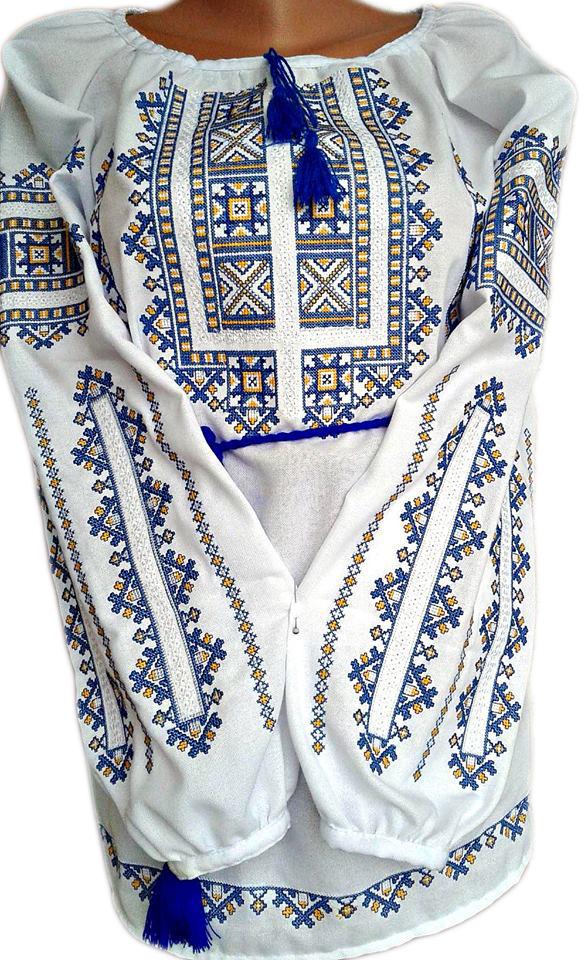 """Женская вышитая рубашка """"Нелия"""" BL-0085"""