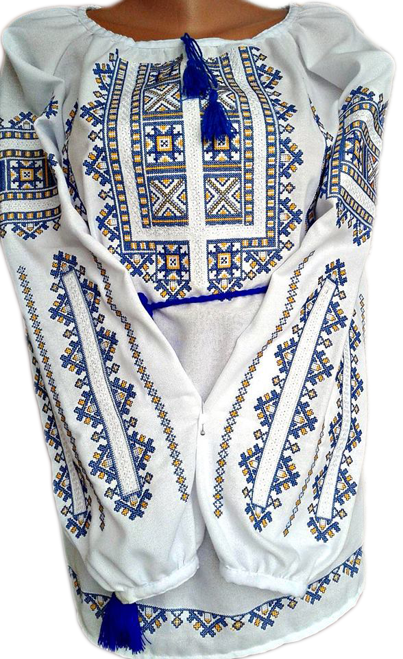 "Жіноча вишита сорочка (блузка) ""Нелія"" (Женская вышитая рубашка (блузка) ""Нелия"") BL-0085"