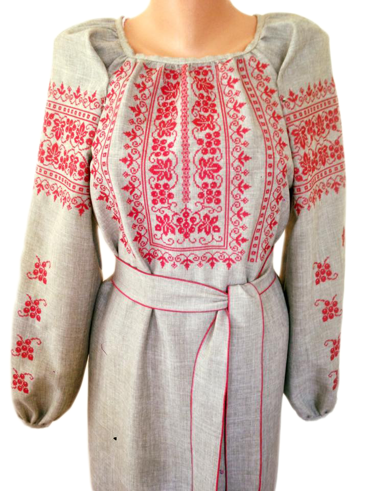 """Женская вышитая рубашка """"Нормис"""" BL-0086"""
