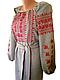 """Женская вышитая рубашка """"Нормис"""" BL-0086, фото 2"""
