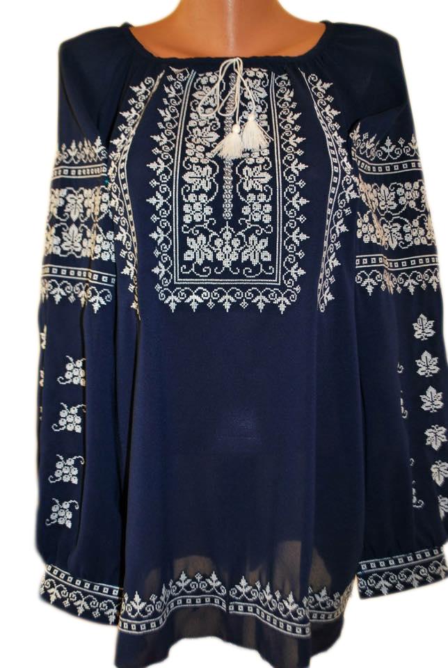 """Женская вышитая рубашка """"Навин"""" BL-0087"""