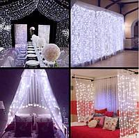 Светодиодный занавес для внутреннего и внешнего праздничного декора