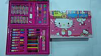 """Набор художника в кейсе,68пр """"Хеллоу Китти Hello Kitty"""",300*210*40мм.Детский набор для рисования """"""""Хеллоу Китт"""