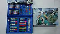 """Набор художника в кейсе,68пр """"Холодное Сердце Frozen"""",300*210*40мм.Детский набор для рисования """"Холодное Сердц"""