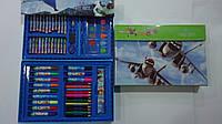"""Набор художника в кейсе,68пр """"Летачки Planes"""",300*210*40мм.Детский набор для рисования """"Летачки Planes"""" в карт"""