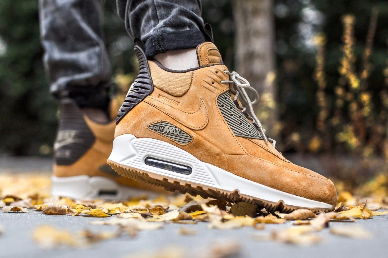 size 40 103a3 bb180 ... denmark nike air max 90 sneakerboot winter wheat 17651 40831