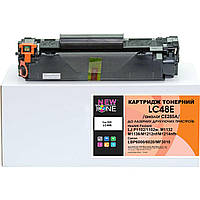 Картридж тонерный NewTone для HP LJ P1102/M1132/M1212 Canon 725 аналог CE285A Black