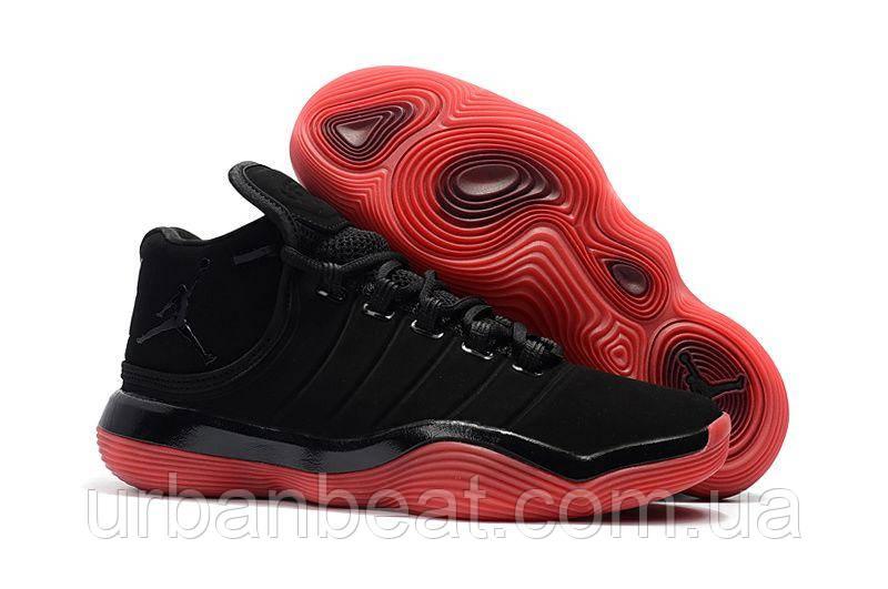 Баскетбольные кроссовки Jordan Super.Fly 2017 Black/Red Реплика, фото 1