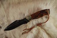"""Боевой нож ручной работы, нож-антитеррор """"Воин"""", дамасск (наличие уточняйте)"""