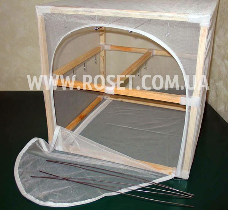 Сушилка для рыбы двухъярусная деревянная сборно-разборная - ЭКО-2