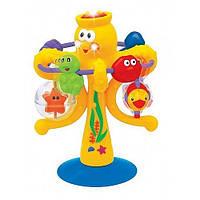 Игрушка на присоске KiddielandPreschool Музыкальный осьминог (038190)