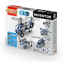 Обучающий конструктор Engino серии Inventor 12 в 1 – Самолеты 1233