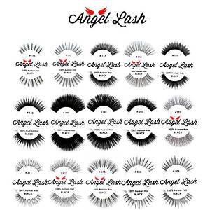 Накладные ресницы из человеческого волоса Angel Lash™ Natural Eyelashes