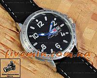 Мужские наручные часы Tommy Hilfiger Quartz Silver Black Blue с календарем кварцевые уличный стиль