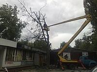 Аренда автовышки Киев Услуги автовышки от 17 до 50 метров, фото 1