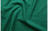 Лен габардин зеленый, фото 1