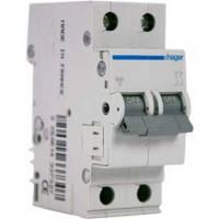 Автоматичний вимикач In=25 А, 2п, С, 6 kA, 2м