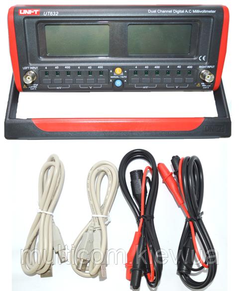 17-04-105. Цифровой вольтметр переменного тока UNI-T UT-632