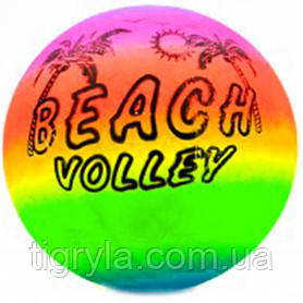 Мячик детский радуга, пляжный мяч пальма