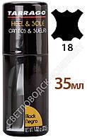 Краситель для рантов,подошв и каблуков TARRAGO Edge Dressing, 35 мл, цв. черный